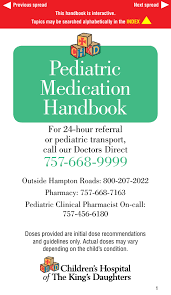 Curosurf Dosing Chart Pediatric Medication Handbook