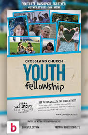 revival flyers templates youth fellowship church program flyer template template and flyer