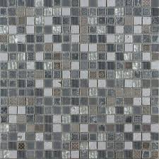 grey stone and glass mosaic 10x10