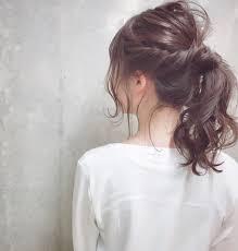 バングはありなしどっちが好み簡単アップの髪型のやり方講座