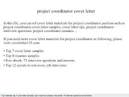 Program Manager Cover Letter Example Sample Director Cover Letter