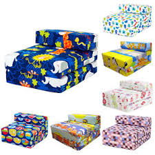 kids chair bed. Beautiful Bed Image Is Loading ChildrensKidsSingleFoldingZChairBedMattress Inside Kids Chair Bed T