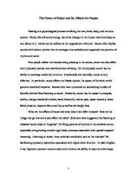 Good Introduction For Essay About Music Mistyhamel
