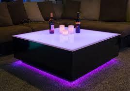 interior cubix series 44 x led lighted coffee table lounge furniture latest led 3