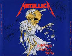 <b>Metallica</b> – <b>Damaged Justice</b> '88-'89 (CD) - Discogs