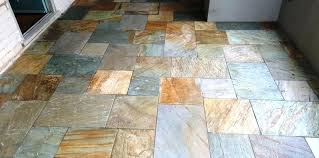 colorful floor tiles design. Multi Coloured Tiles Slate Play Room Floor After Cleaning  . Colorful Design