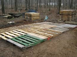 Decking Using Pallets Pallet Shed Building 101 Album On Imgur