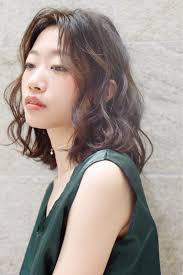 アラフォー 髪型 ミディアム パーマ Divtowercom