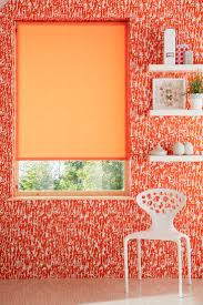 Orange Bedroom Wallpaper 17 Best Ideas About Orange Office Blinds On Pinterest Pink