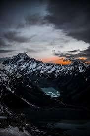 preview wallpaper mounns lake tops top view