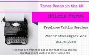 lance writing services by three beans in the am in boca raton   lance writing services share facebook · twitter · · linkedin · email 1506347969 blob
