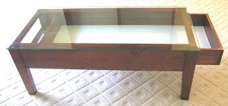Coffee Table:Display Coffee Table With Glass Top Furniture Inspiration  Ideas Simple And Neat Look