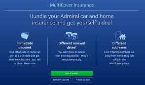 Admiral car insurance compared against 100+ other insurers. Flexible Insurance Bundles Multicover