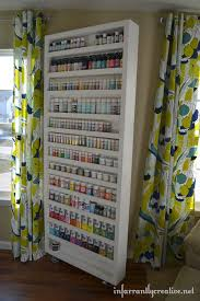 craft paint storage awesome craft room