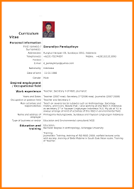 Standard Cv Template Starengineering