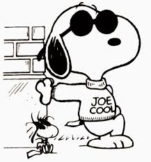 Small Picture Coloring Pages Kids Christmas Snoopy Page New itgodme