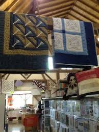 Sugar Pine Quilt Store in Canmore, one of my favorite shops ... & Quilts at an Amish run quilt store Adamdwight.com