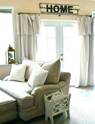 kitchen curtain rods farmhouse curtains phenomenal inexpensive ideas french door and valances kitch