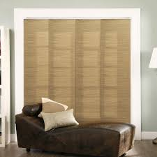 trendy office designs blinds. Panel Track Blinds French Sandalwood Polyester Cordless Vertical - 80 Trendy Office Designs