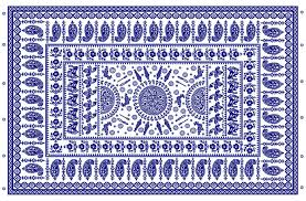 Tablecloth Pattern Delectable Smithsonian Center For Folklife And Cultural Heritage The Blue