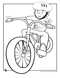 Small Picture Boy Riding Bike Coloring Page Woo Jr Kids Activities