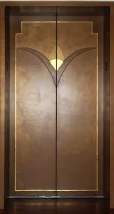 modern door texture. On This Art Deco Style Elevator Door We Used Several Colors From Modern Masters Metallics Texture