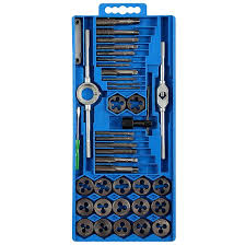 Tap And Die Set Chart Tap Die 40pcs Tap Die Set M3 M12 Screw Thread Metric