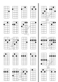 Ukulele Chord Progressions Chart Free Download