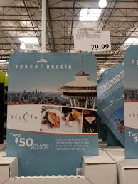 costco gift cards to sky city restaurant photo 1