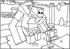 Minecraft Mutant Creatures Coloring Pages 2019 Open Coloring Pages