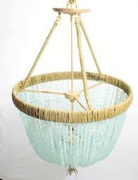 sea glass chandelier. Cynthia - Sea Glass Nugget Open Chandelier Au Courant Interiors