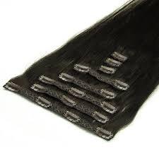 Clip In Hair Extensions Deluxe 50cm 200g 02 Donker Bruin