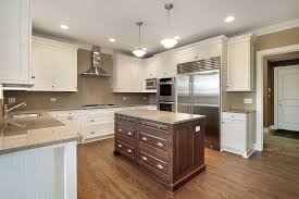 top 61 superior two tone wood kitchen cabinets diffe colored kitchens with the clayton design image of slim oak display cabinet charlotte nc