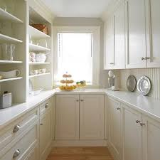 beadboard kitchen walls view full size light filled butler s pantry with cream shaker cabinets with white countertops