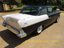 1957 Chevy 150 2 dr. sedan Black Widow - Atlas Muscle Cars