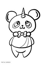 Incantevole Disegni Da Stampare E Colorare Panda Con