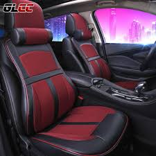 premium car seat cover comfortable with memory foam and 3d leather universal seat cover for most 5seats car 5colour custom car seats covers custom fit auto