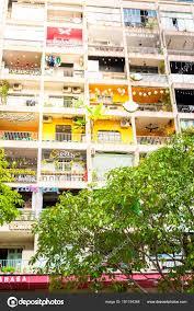 Ho Chi Minh City Vietnam 12262017 Bright Unusual House With Many