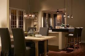 Barrington 40 Light Drum Pendant In Distressed Black Metal And Wood Simple Kichler Dining Room Lighting