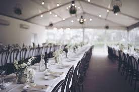 collection you will also find you will have the choice of round or rectangle tables as well as white or timber bentwood chairs for your reception