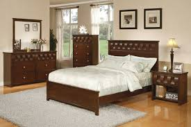 Single Bedroom Furniture Sets Bedroom Furniture Cheap Classic Brown Oak Wood King Size Bed