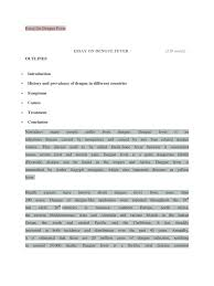 essay on dengue animal diseases public health