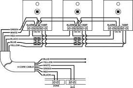 wiring 2 or more sensors onto a single zone intruder alarms again a series circuit is used below is a wiring diagram for pir s and door contacts in series
