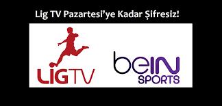 Lig TV Pazartesi'ye Kadar Şifresiz! Lig TV, beIN Sports Oldu, Pazartesi  Gecesine Kadar Şifresiz Oldu – Haberegider Blog