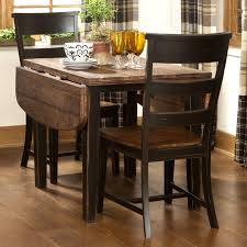 Kitchen Table With Leaf Insert Furniture Drop Dead Gorgeous Square Dining Table Leaf Also Kind