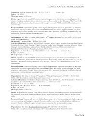 Aviation maintenance manager resume
