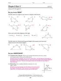 8 3 practice trigonometry form k