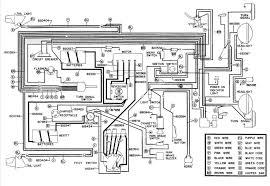 1987 club car electric golf cart wiring diagram 1986 and ez go club car wiring diagram gas at 1987 Club Car Electric Golf Cart Wiring Diagram