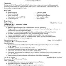 Hvac Resume Samples Enjoyable Design Ideas Hvac Resume Samples 60 Hvac Technician inside 24