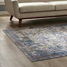 distressed fl lattice area rug in light blue yellow and orange rugs 4x6 wayfair 4 x